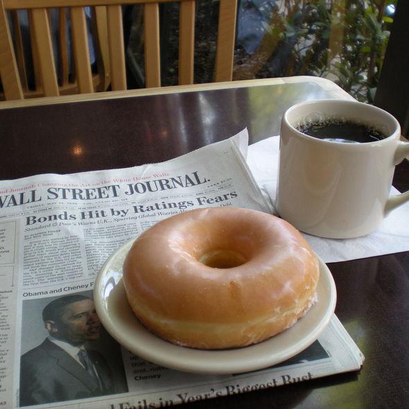 Glazed Ring Donut @ Top Pots Doughnuts