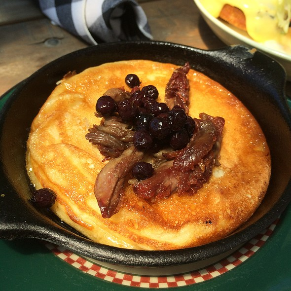 Duck Confit Pancake @ The County General