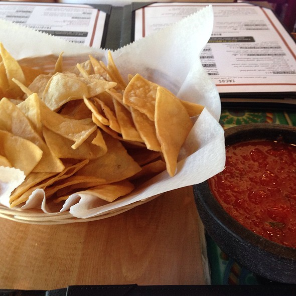 Chips and Salsa @ Las Velas