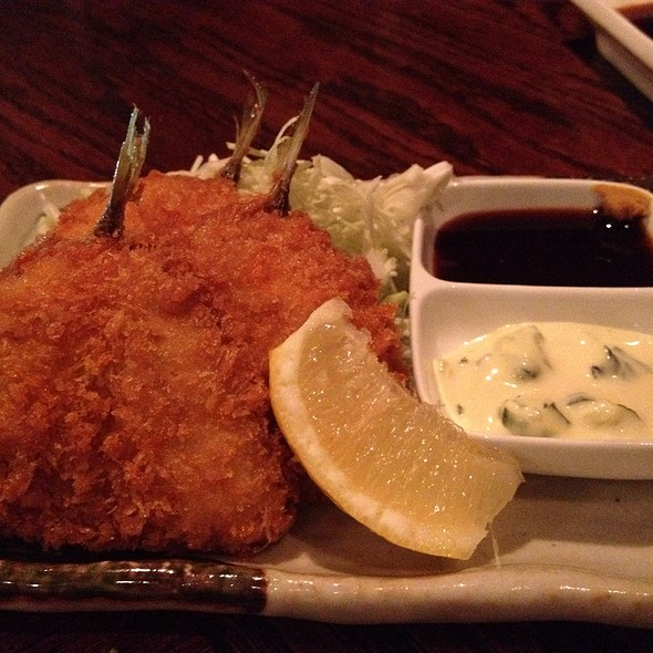 Aji-Fry (Deep Fried Horse Mackerel)