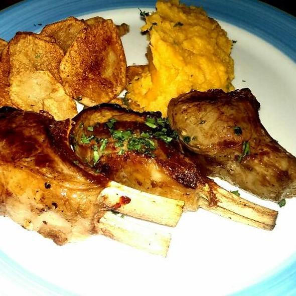 Costillas De Cordero (Lamb Chops) - Tango Restaurant, Arlington, MA