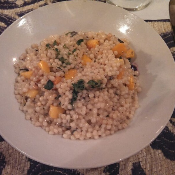 Couscous and Butternut Squash @ Loring Cafe