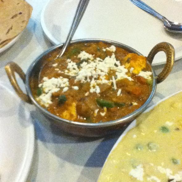 Kadai Paneer @ Vaibhav Veg Restaurant