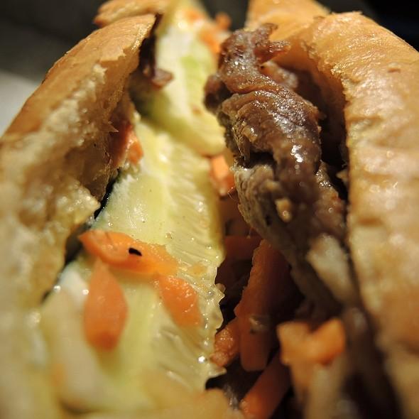 Bánh mì thịt nướng (Grilled Pork) @ BC Deli Sandwiches