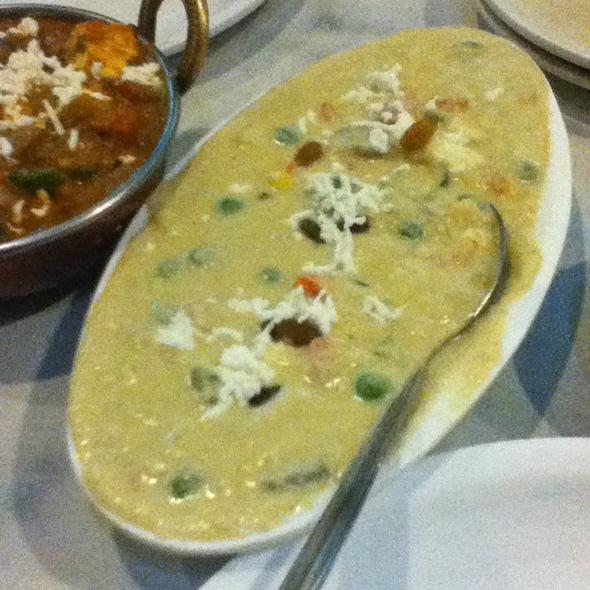 Navratan Korma @ Vaibhav Veg Restaurant