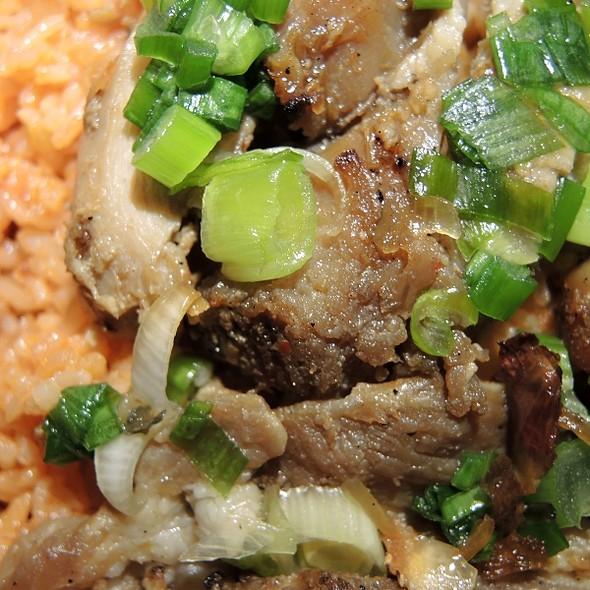 Pork with Rice @ BC Deli Sandwiches