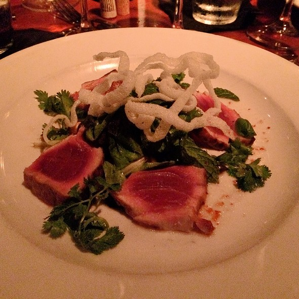 Grilled Rare Yellowfin Tuna - 32 East, Delray Beach, FL