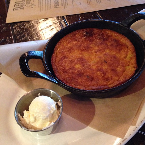 Skillet Cornbread With Jalapeno And White Cheddar @ Boneyard Kitchen and Bar