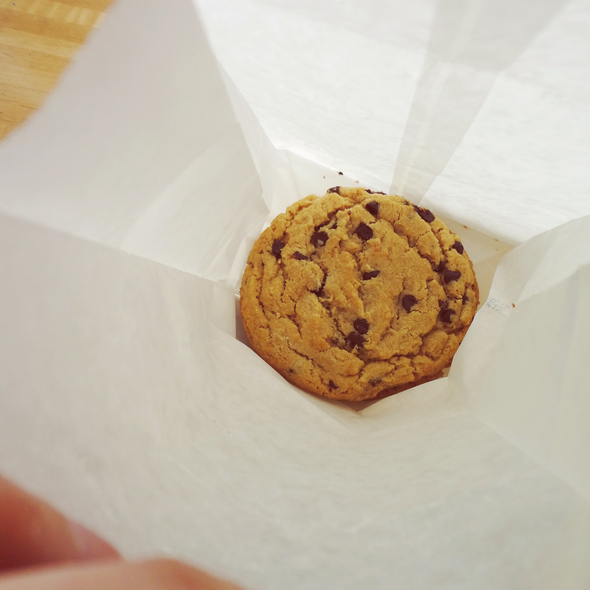 chocolate chip cookie @ Stick Boy Bread Company