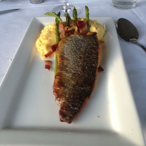 Trout! - Table at Crestwood, Boone, NC