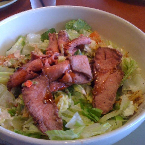 Steak And Blue Cheese Salad @ Panera Bread