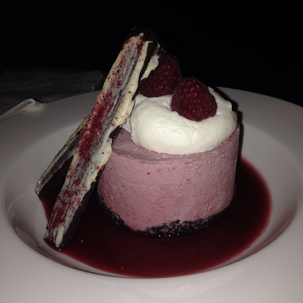 White Chocolate Raspberry Mousse @ Chocolate Room