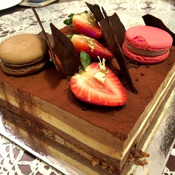 Large Triple Chocolate Mousse Cake @ Brendan Dewar Patisserie