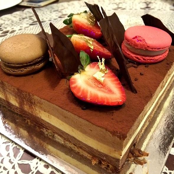 Large Triple Chocolate Mousse Cake @ Brendan Dewar Patisserie