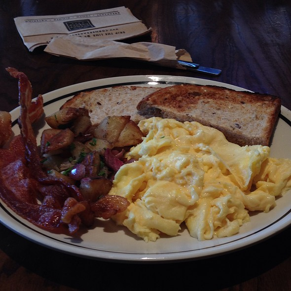 All-American Scrambler @ Corner Bakery Cafe