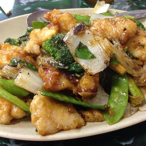 Fish Fillet With Chinese Vegetables