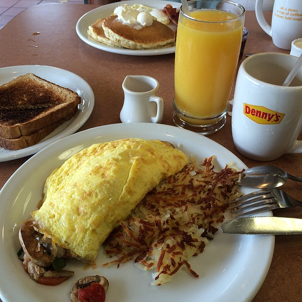 Veggie & Cheese  Omlette @ Denny's in Clairemont