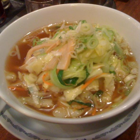 Vegetarian Ramen @ Shinagawa Ward, Tōkyō Metropolis