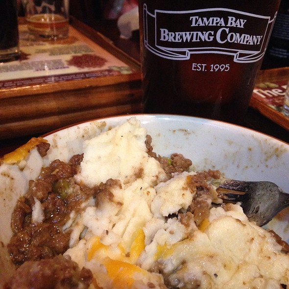 Shepherd's Pie @ Tampa Bay Brewing Company