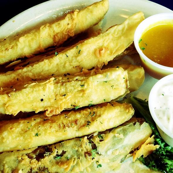 Fried Pickles @ Blind Tiger The