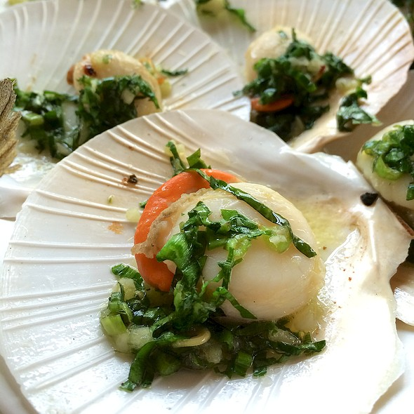 Baked Scallops with Butter @ อบอร่อย