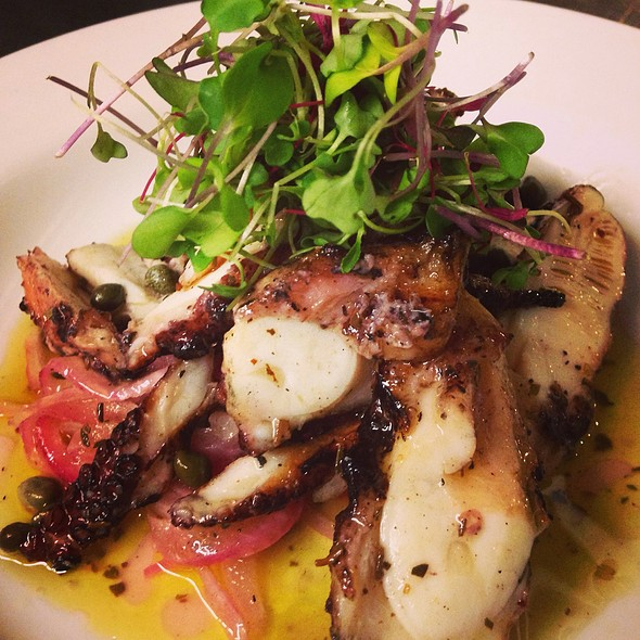 Grilled Octopus - AquaTerra Grille, Pearl River, NY