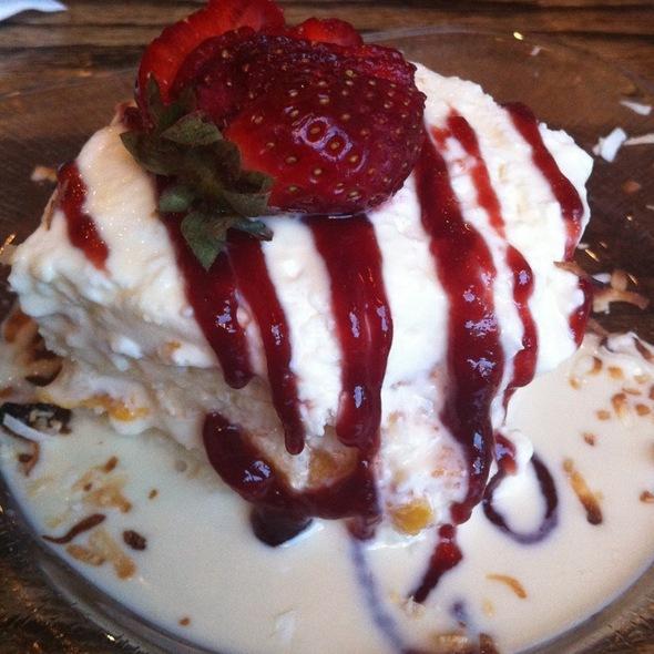 Tres Leche Cake - Havana 59, Richmond, VA