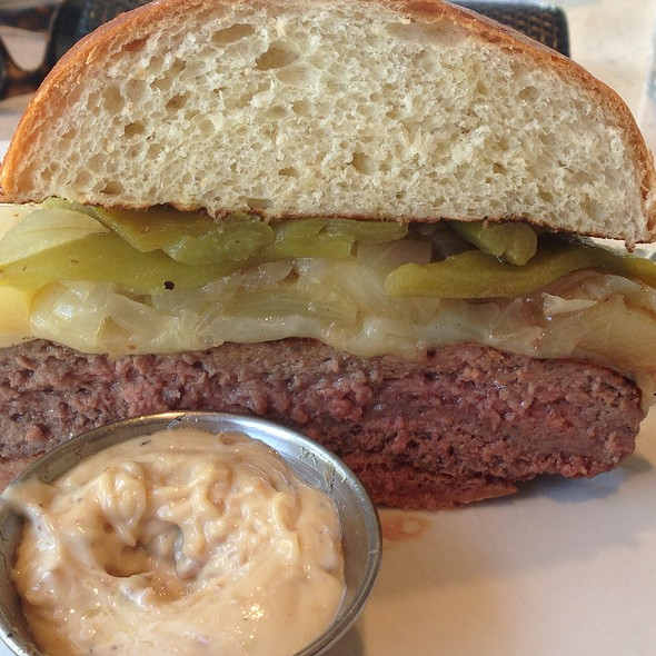 Build Your Own Burger @ The Counter