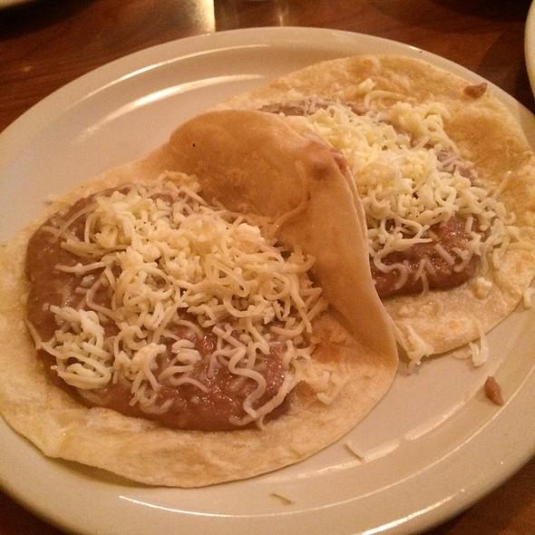 Frijol Y Queso Tacos @ La Tapatia Taqueria