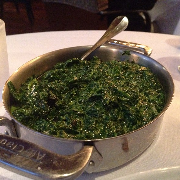 Creamed Spinach - Redeye Grill, New York, NY