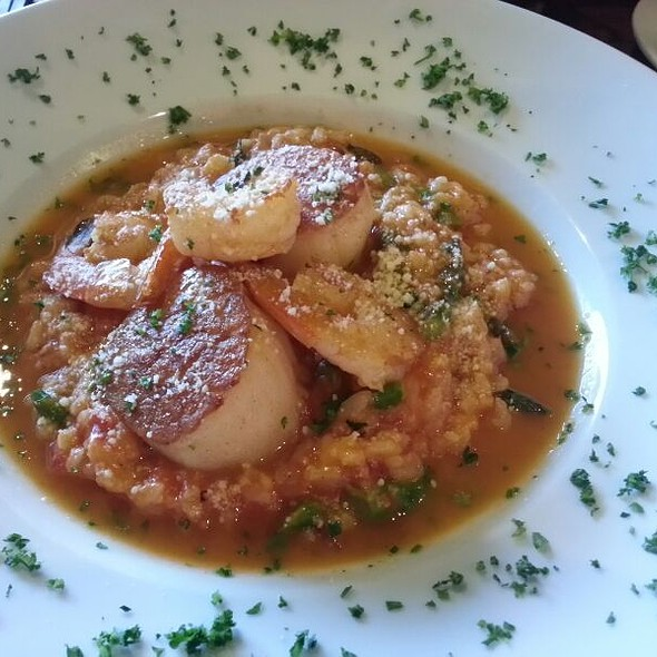 Shrimp And Scallops Risotto @ Firenze Ristorante Italiano