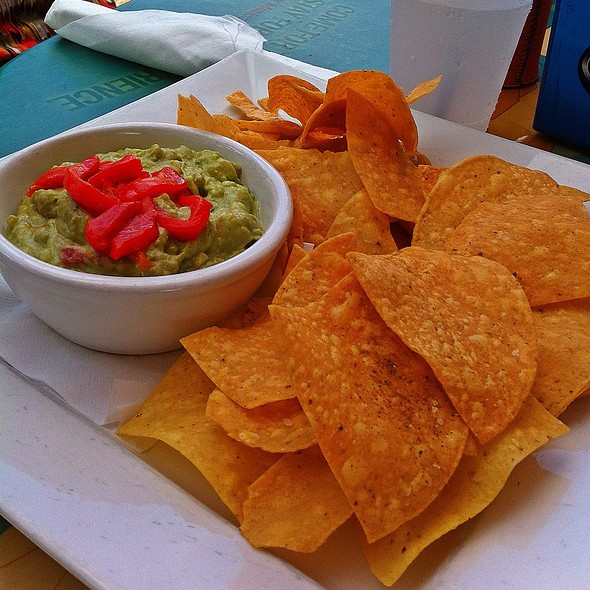 Guacamole and Chips @ Nippers Beach Grille