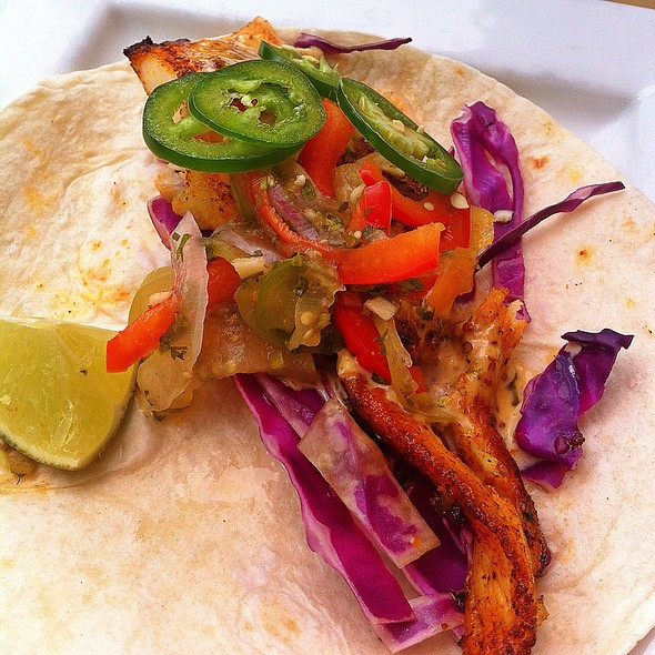 Fish Taco @ Nippers Beach Grille