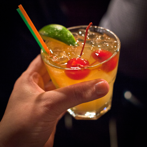 Bourbon Sour @ Stork Club