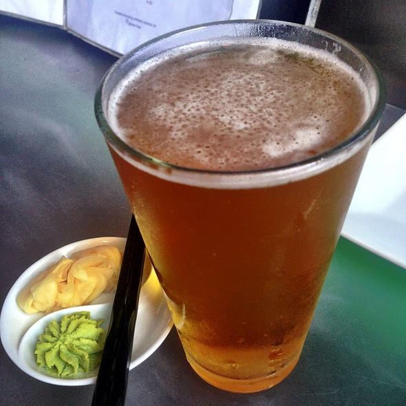 Sapporo on draft - Azuki Sushi Lounge, San Diego, CA