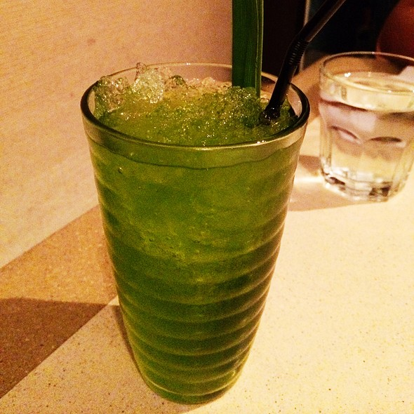 Pandan Juice @ People's Palace