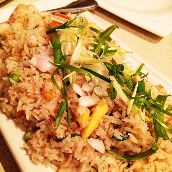 Pineapple Seafood Fried Rice @ People's Palace