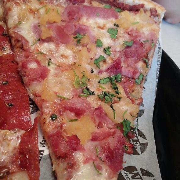 Honey Ham & Pineapple Pizza