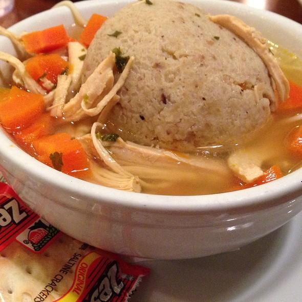 Matzoh Ball Soup @ Fromin's Restaurant
