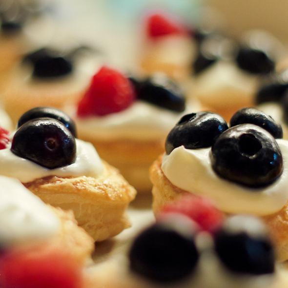 Tarteletes de frutos silvestres @ Homemade