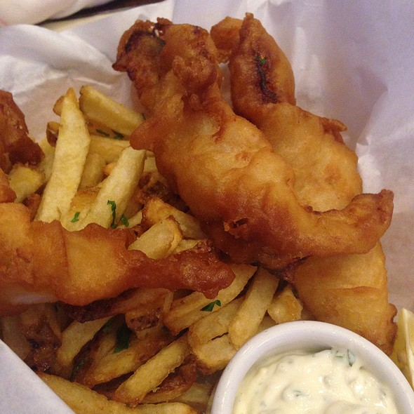 Anchor Steam Battered Fish And Chips