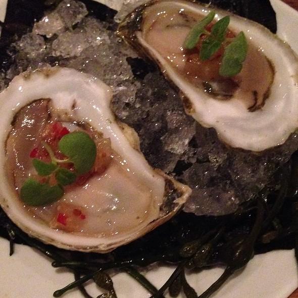 Oysters With Yuzu