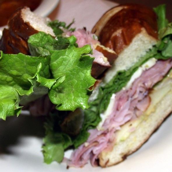 Ham And Brie Sadwich @ Buona Beef