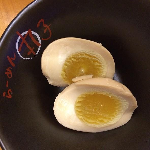 Eggs @ Maruko Japanese Noodle House