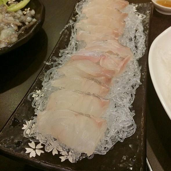Halibut Sashimi @ Crazy Fish