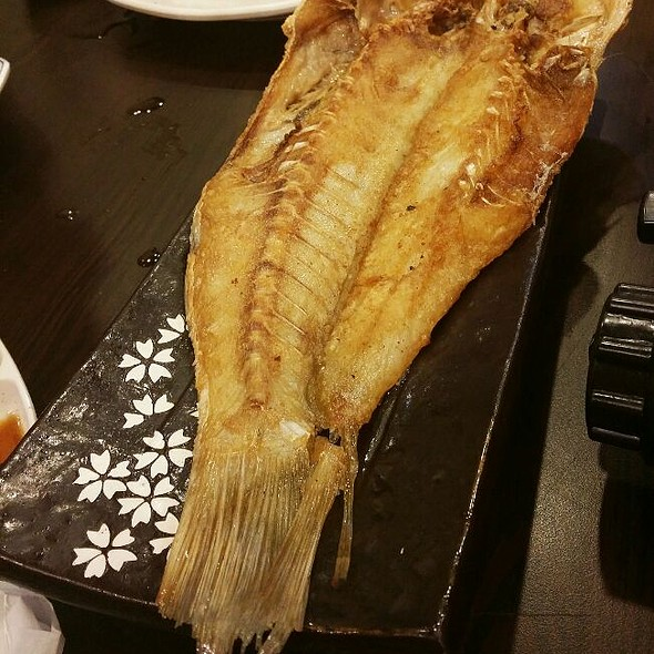 Grilled Red Tail Fish  @ Crazy Fish