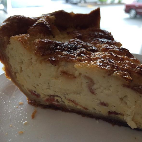 Bacon Brie Quiche @ Mon Aime Bakery