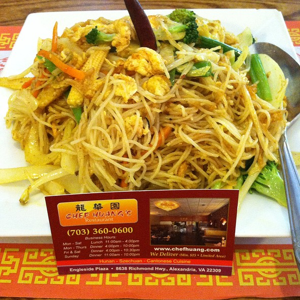 Singapore Noodles @ Chef Huang's