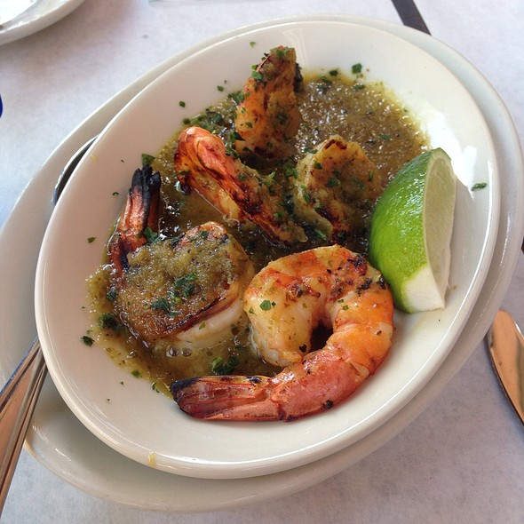Jalepeno And Lime Grillled Shrimp - Blue Point Grill, Princeton, NJ
