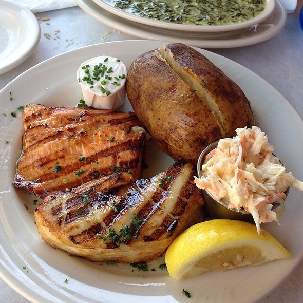 Chilean Sea Bass And Arctic Char - Blue Point Grill, Princeton, NJ